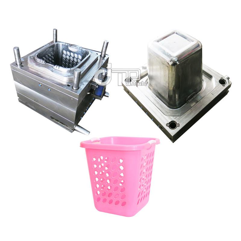 Molde cesta de lavanderia fiesta blanca