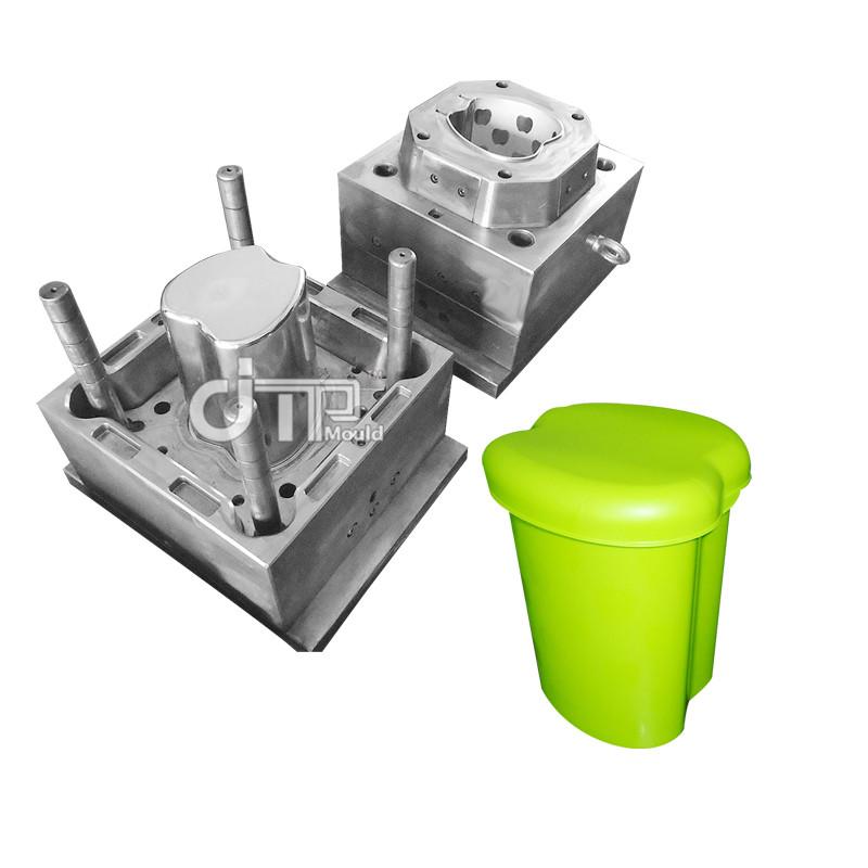 Molde plástico del cubo de basura del cubo de basura de Apple (JTP-A0119)