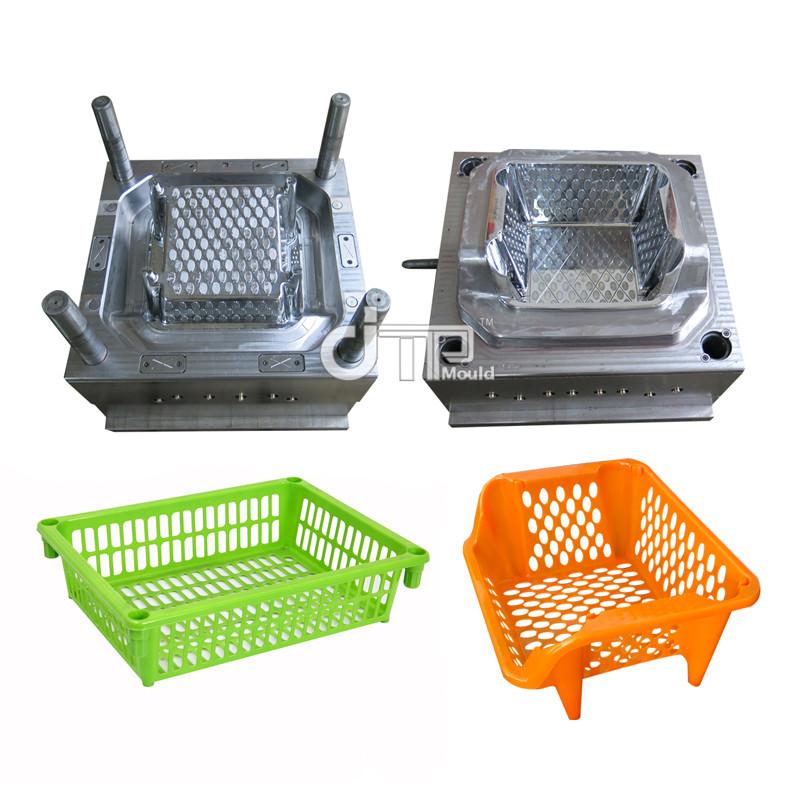 Molde de marco de plato de estante de plato de inyección de plástico