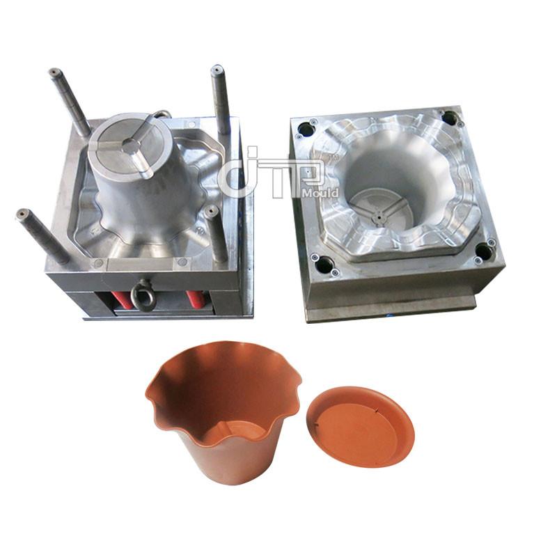 Molde de maceta de inyección de plástico para el hogar de material PP (JTP-A0113)