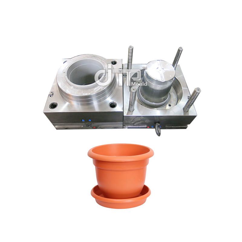 Molde de maceta de inyección de plástico para el hogar de material PP (JTP-A0116)
