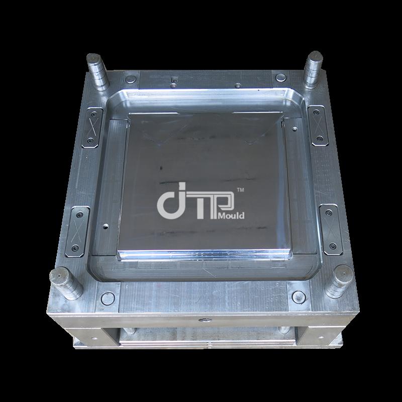 Molde de mesa de inyección de plástico pequeño de canal frío de una sola cavidad