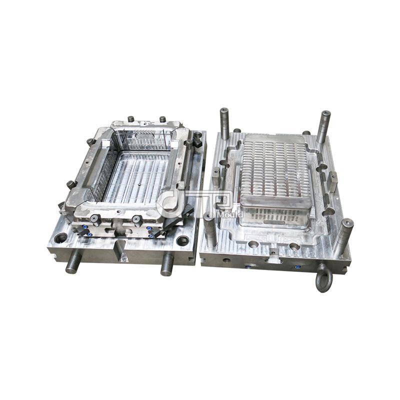 Alta calidad y el mejor precio para el almacenamiento de moldes de cajas de plástico, frutas, verduras, pasteles, pan (JTP-A0091)