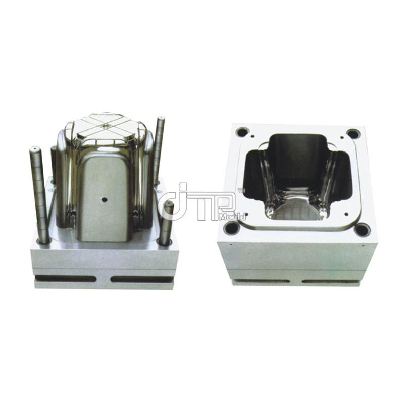 Molde de silla de bebé de inyección de plástico de una sola cavidad Cold Runner (JTP-A0012)