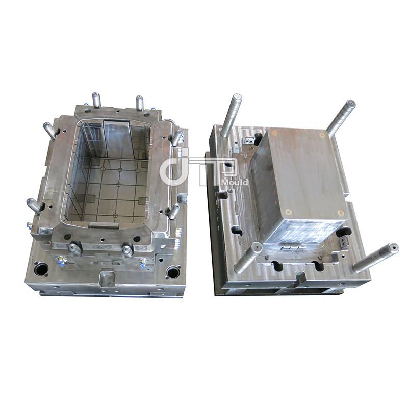 Molde plegable plástico del cajón del pan del molde del cajón de las verduras del almacenamiento del OEM de China